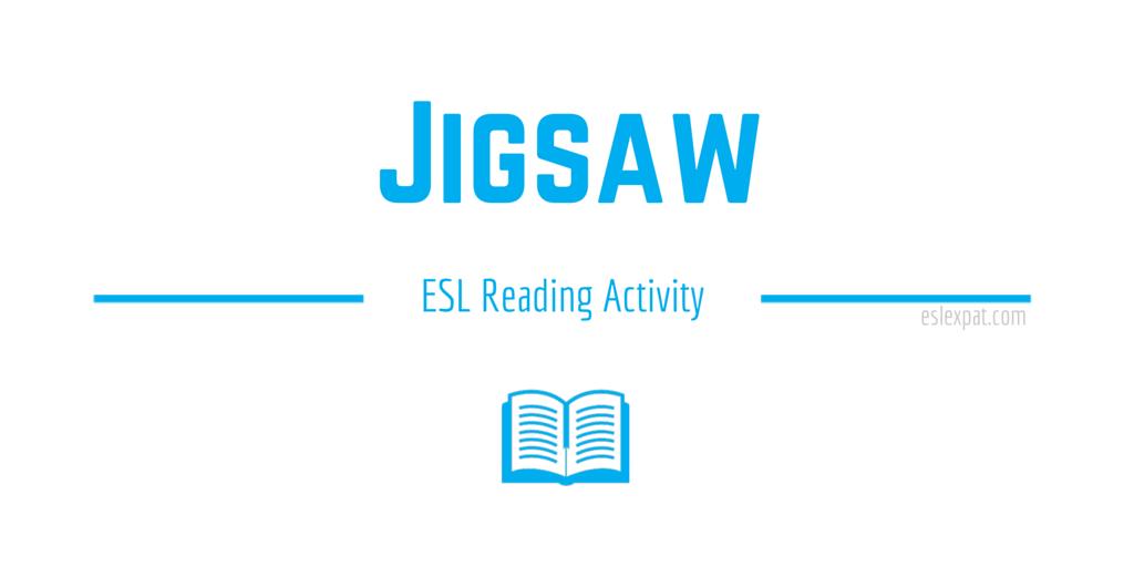 Jigsaw ESL Reading Activity