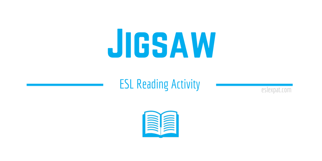 Jigsaw ESL Activity