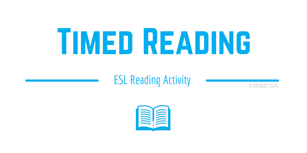 Timed Reading ESL Activity