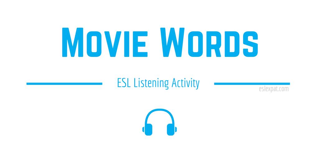 Movie Listening Activity