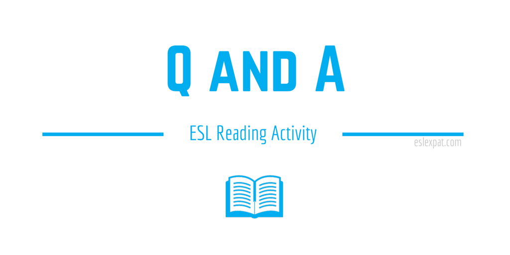 Q&A Reading Activity
