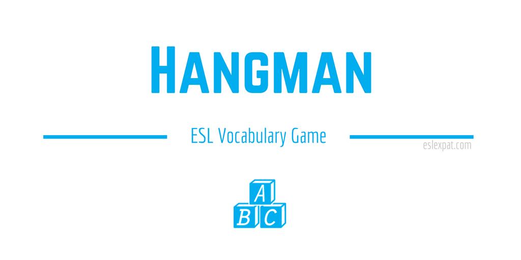 Hangman ESL Game