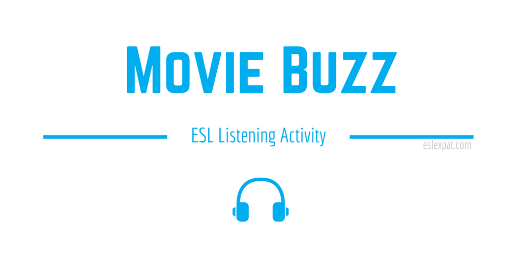 Movie Buzz ESL Activity
