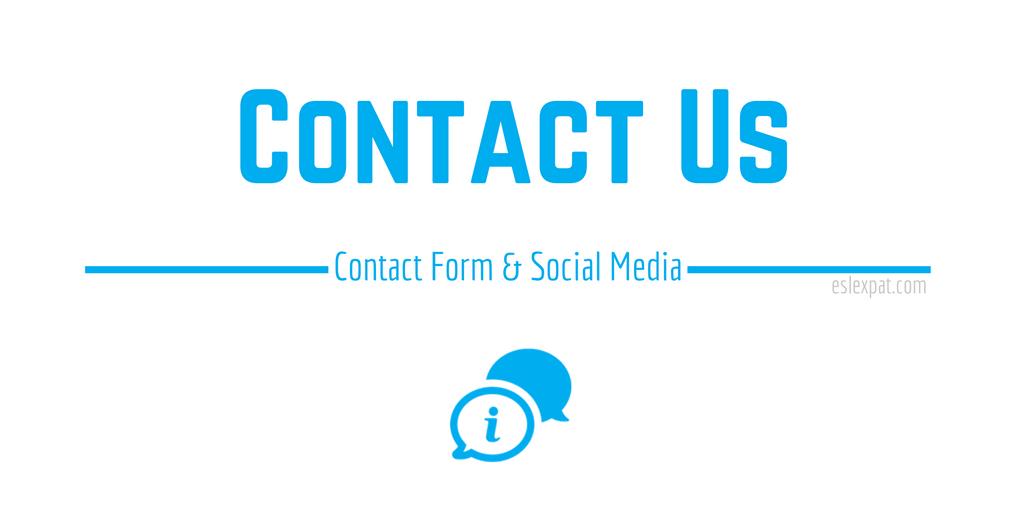 Contact ESL Expat