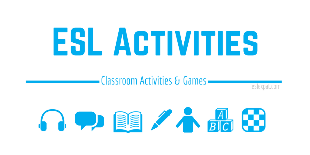 ESL Activities for Kids and Adults