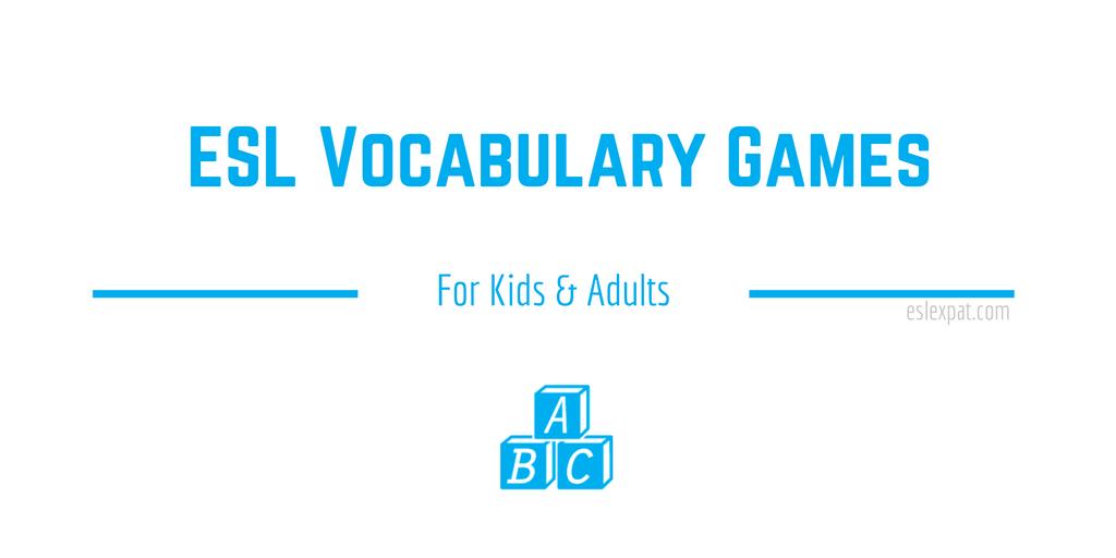 ESL Vocabulary Games