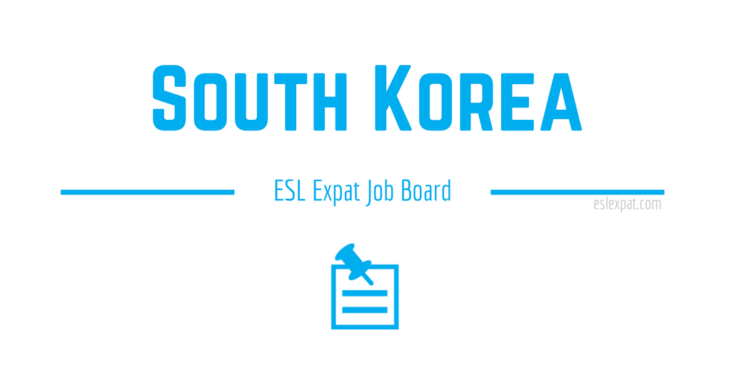 English Teaching Jobs in South Korea