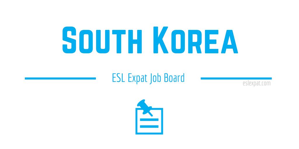 English Teaching Jobs in South Korea