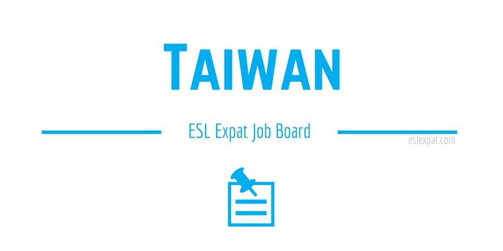 English Teaching Jobs in Taiwan