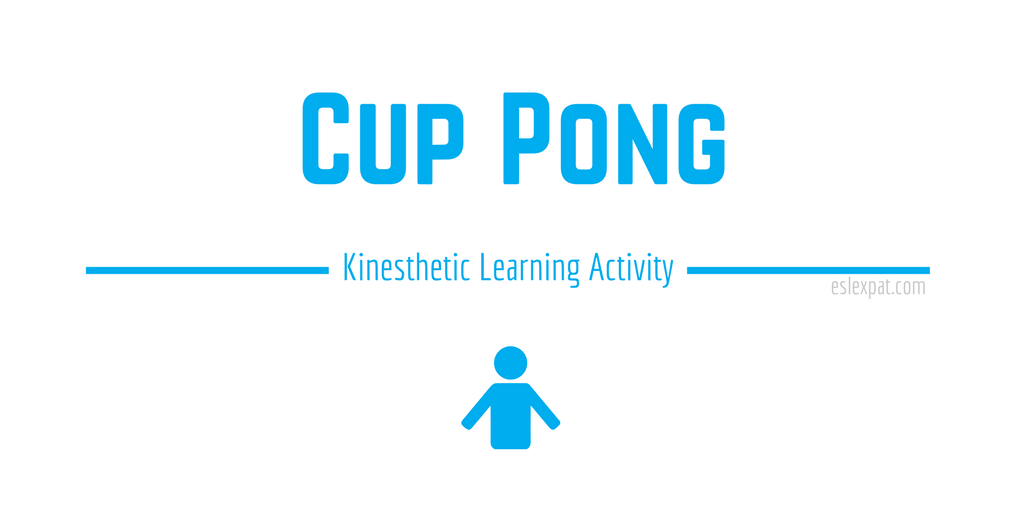 Cup Pong ESL Board Game