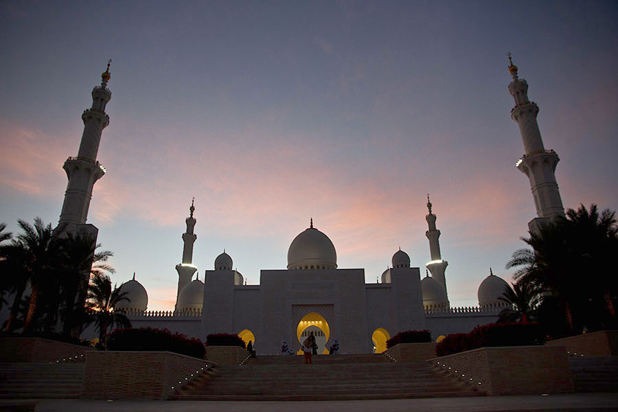 Sheikh Zayed Grand Mosque in the UAE