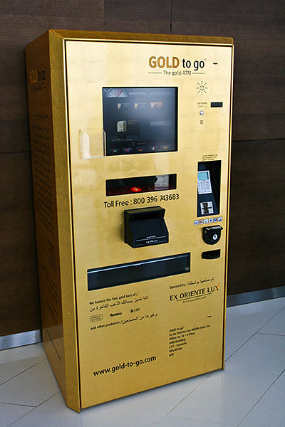 Gold ATM in the UAE