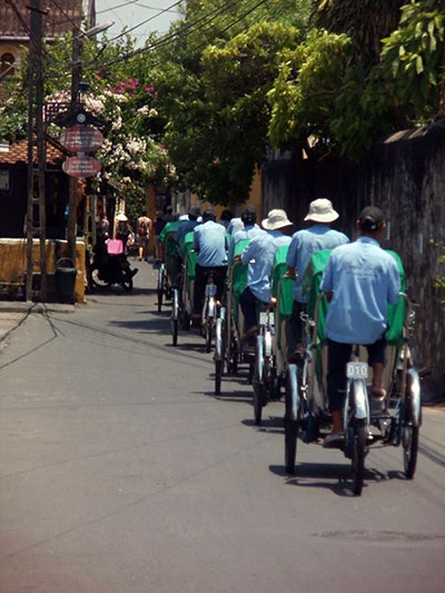 Bicycles in Hoi An, Vietnam