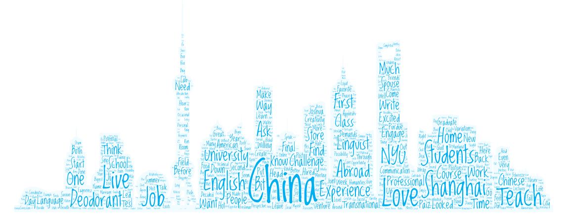 Teaching English in China - Blog Story by Joshua Paiz