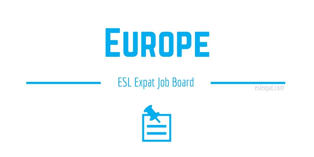 English Teaching Jobs in Europe