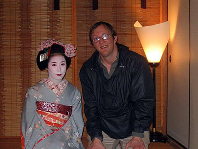 Maiko-san Geisha in Japan