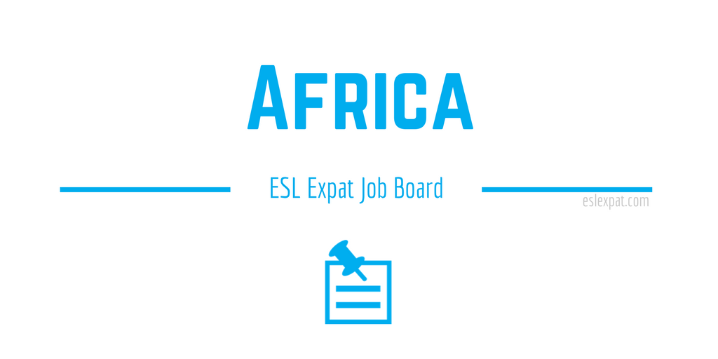English Teaching Jobs in Africa