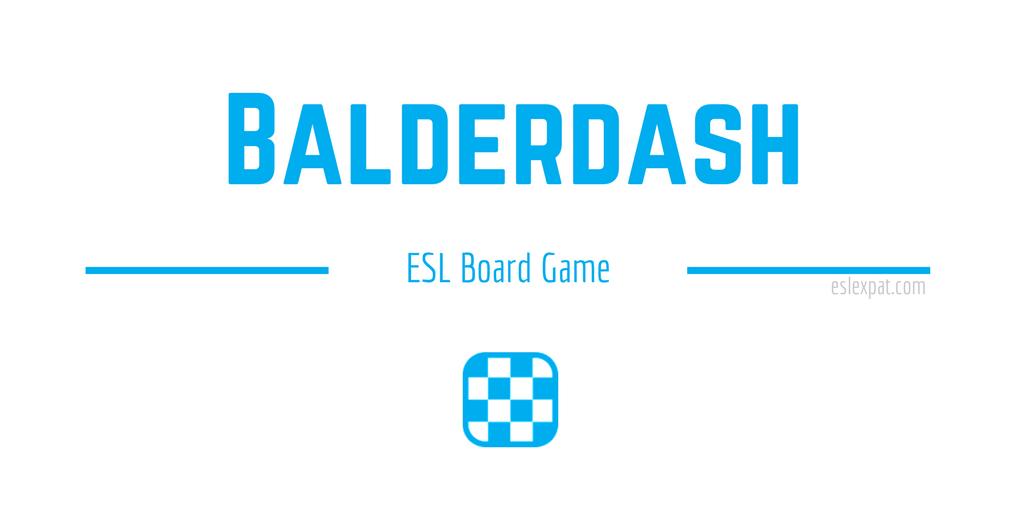 Balderdash ESL Board Game