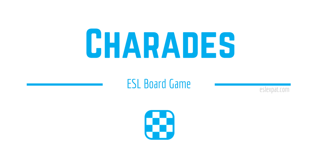 Charades ESL Board Game