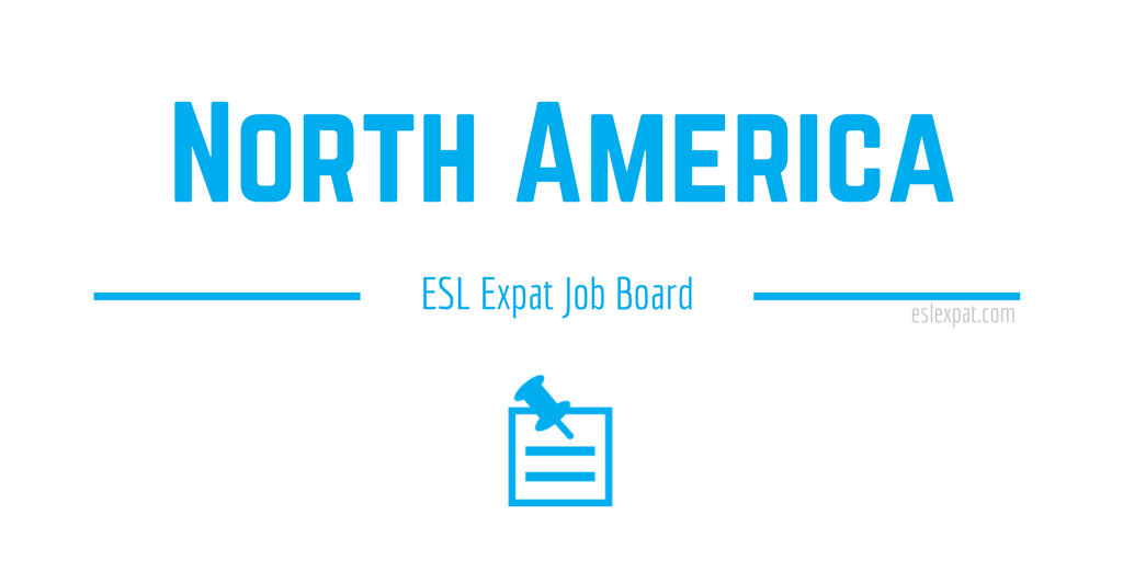 English Teaching Jobs in North America