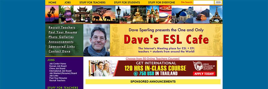 Dave's ESL Cafe