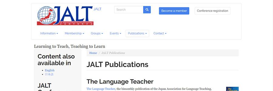 JALT Publications
