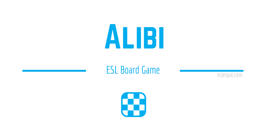 Alibi ESL Board Game