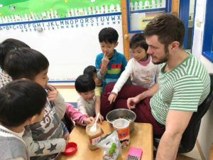 Teaching English in Taiwan - Cooking Class
