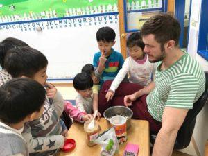 Teaching English in Taiwan - Cooking Class