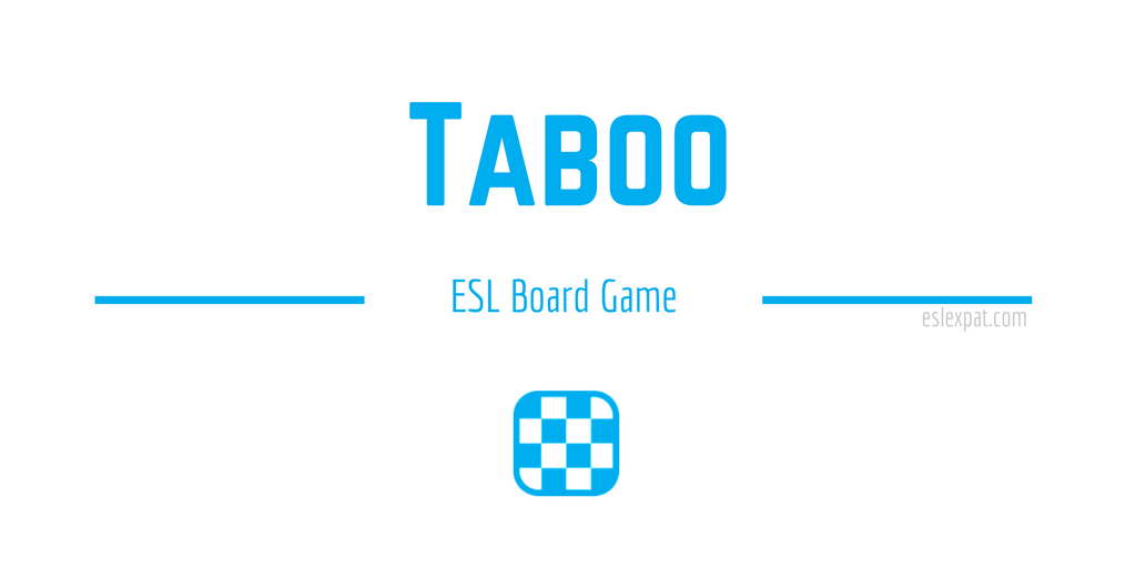 Taboo ESL Board Game