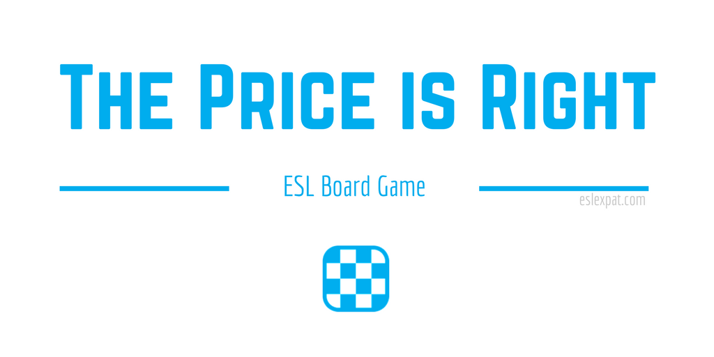 The Price Is Right ESL Game