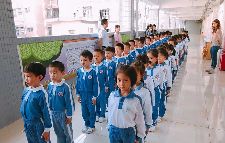 Teaching Elementary Kids in China