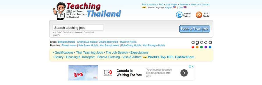 Teaching Thailand - Teaching English in Thailand