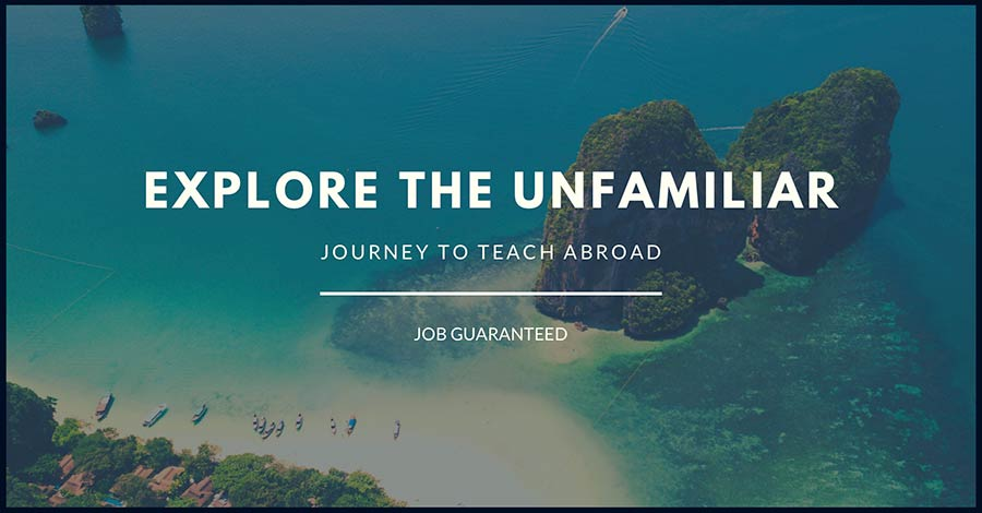 Journey to Teach Abroad