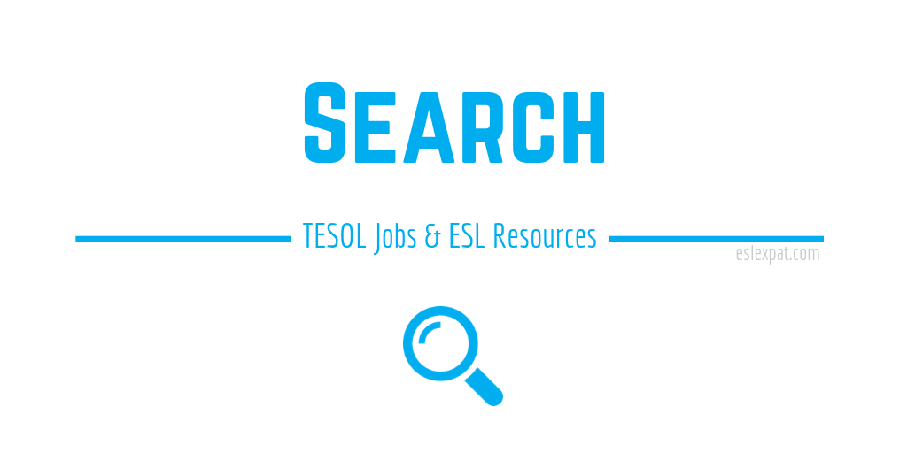 Search - TESOL Jobs and Resources