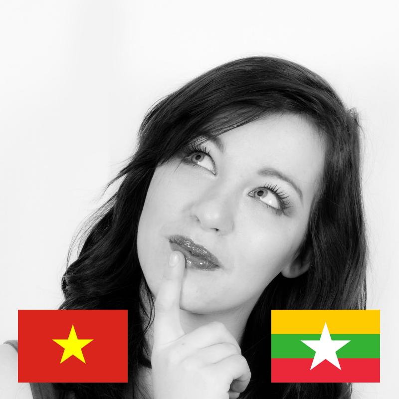 Teaching English in Vietnam or Myanmar