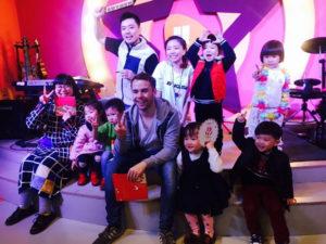 Teaching in Chongqing - Birthday