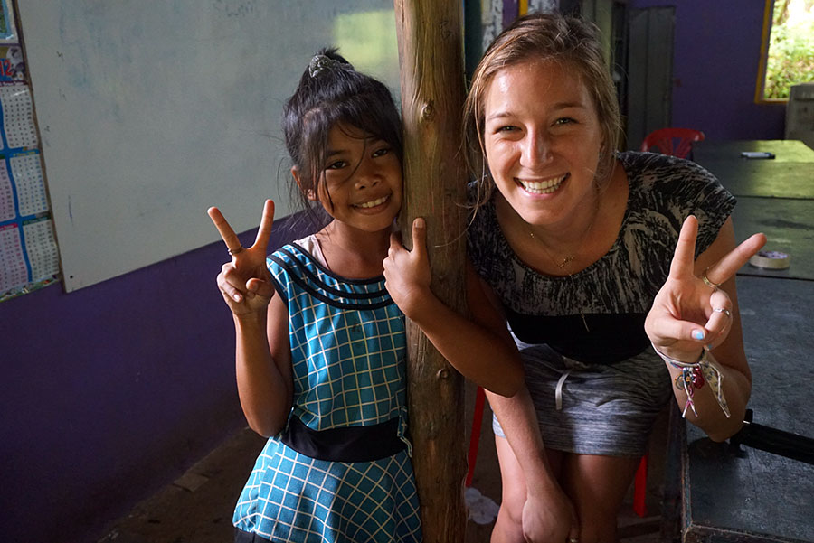 Teaching English in Thailand - Student