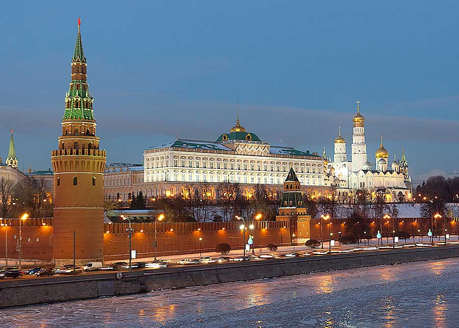 Teaching English in Moscow - Kremlin