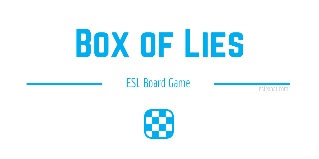 Box of Lies ESL Game