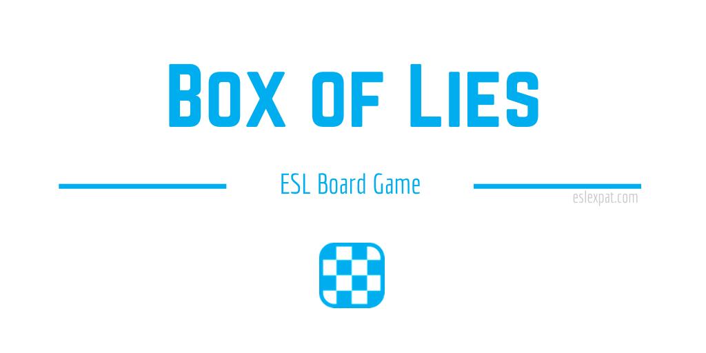 Box of Lies ESL Board Game
