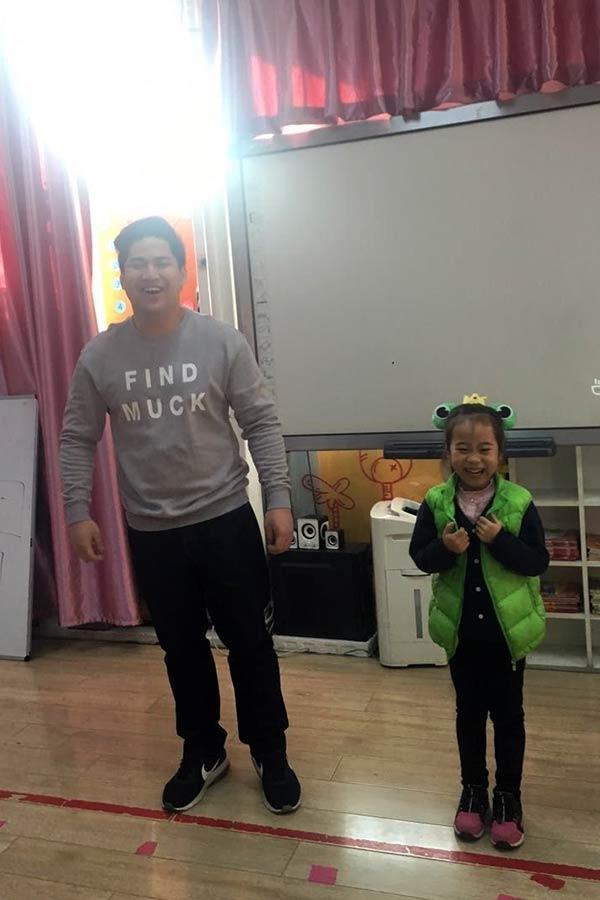 EFL Teacher and Student