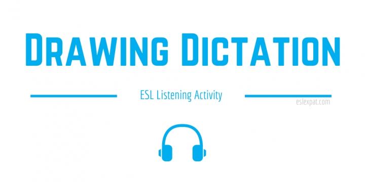 Drawing Dictation ESL Listening Activity