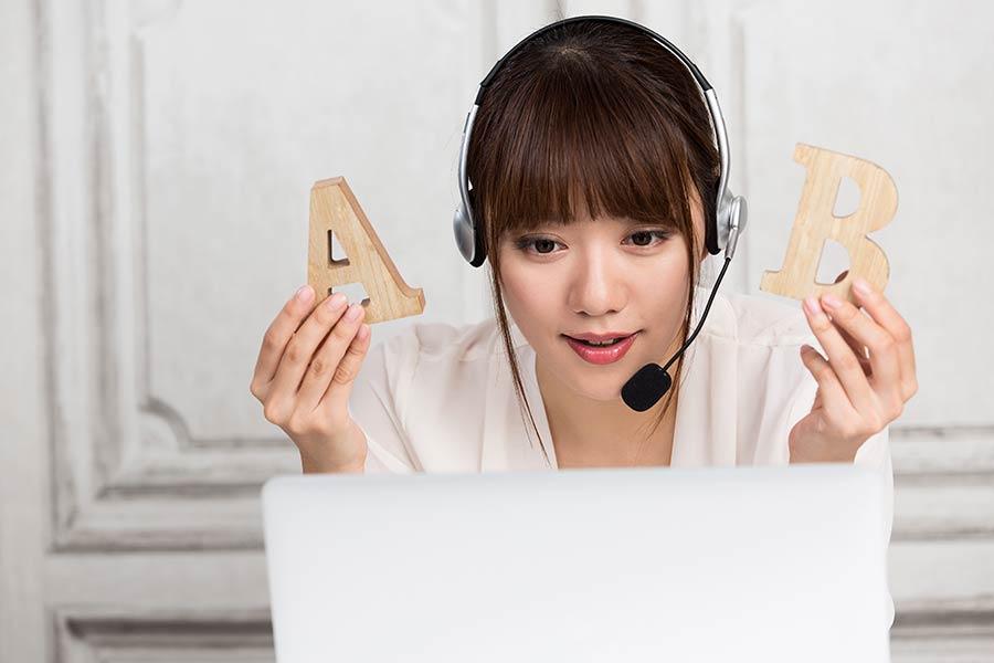 Teaching ESL Online - Female Teacher