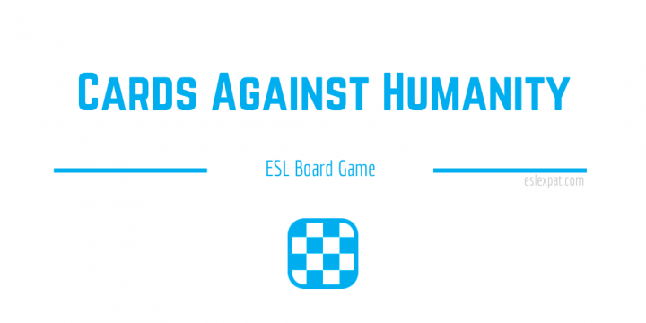 Cards Against Humanity ESL Board Game