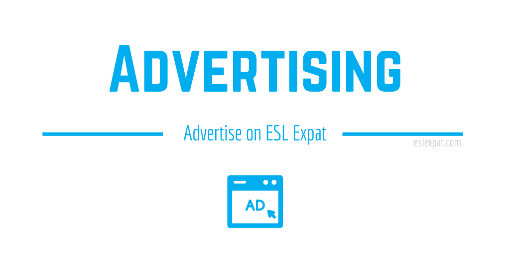 Advertise on ESL Expat