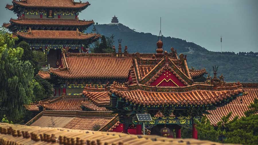 Teaching in China - Temples