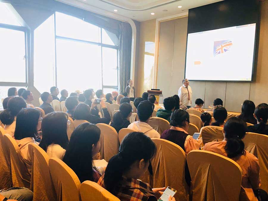 Teaching in Wuhan in 2019