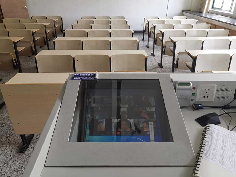 Teaching students online